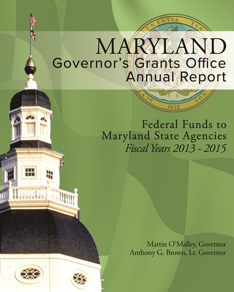 2014 Grants Annual Report Cover Photo